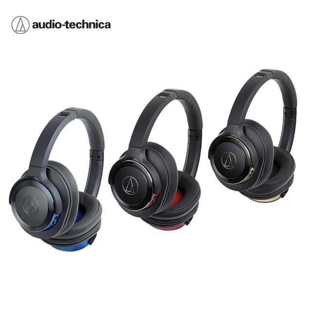【audio-technica 鐵三角】ATH-WS660BT SOLID BASS無線耳罩式重低音耳機(預購)