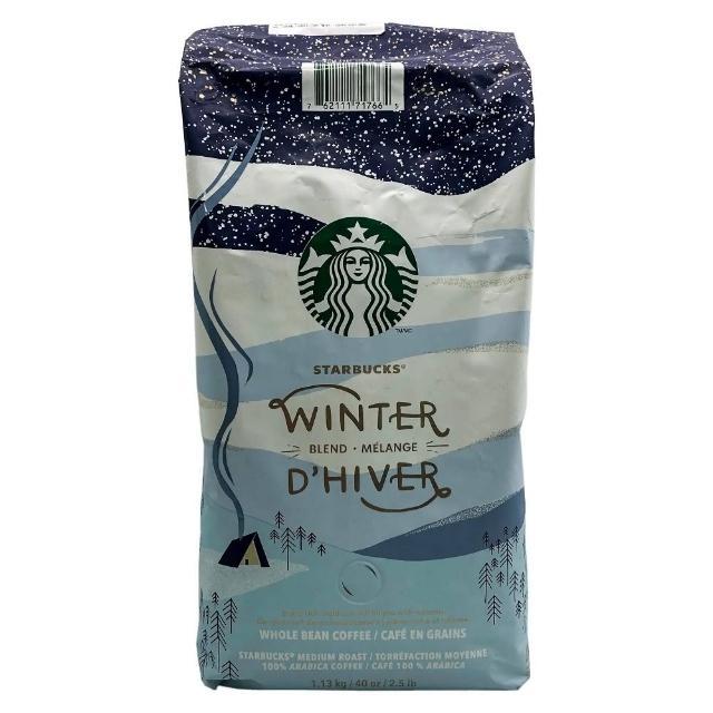 【STARBUCKS 星巴克】冬季限定咖啡豆(1.13公斤)