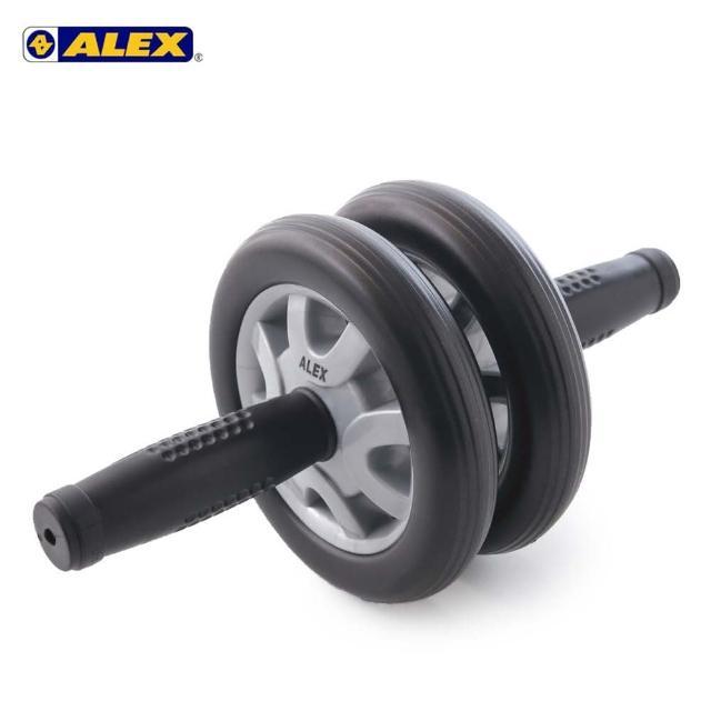 【ALEX護具】雙輪式滾輪輪直徑14CM-健腹輪 健美輪 健身 肌肉訓練 依賣場(B-21)