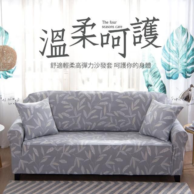 【生活家飾】月桂女神棉柔彈性沙發套3人座