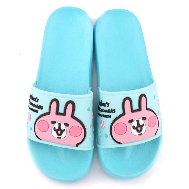 【童鞋城堡】卡娜赫拉 女款 超輕量室內外拖鞋(KI0510-藍)