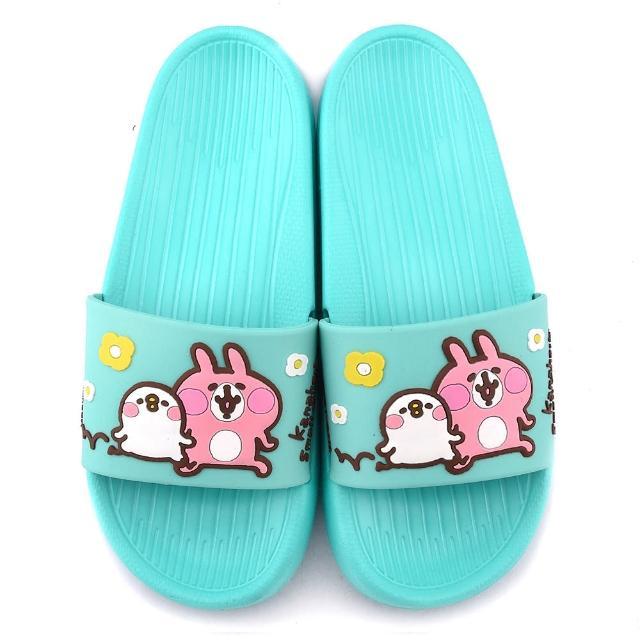 【童鞋城堡】卡娜赫拉 女款 P助超輕量室內外拖鞋(KI0536-綠)
