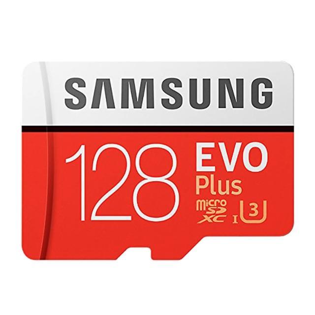 【SAMSUNG 三星】128GB EVO Plus U3 R100/W90mb microSDXC記憶卡