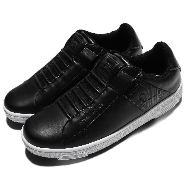 【ROYAL Elastics】休闲鞋 Icon 复古 男鞋 懒人鞋 袜套 穿搭推荐 运动 休闲 黑 白(02074998)