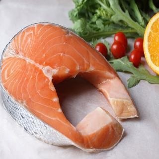【海之醇】挪威鮭魚厚切-8包組(380g/包)