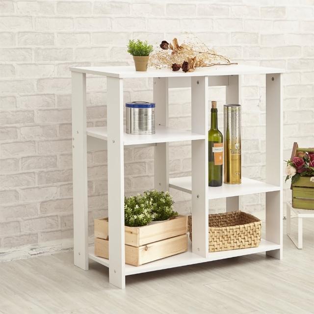 【ikloo 宜酷屋】簡約收納置物架/廚房收納櫃