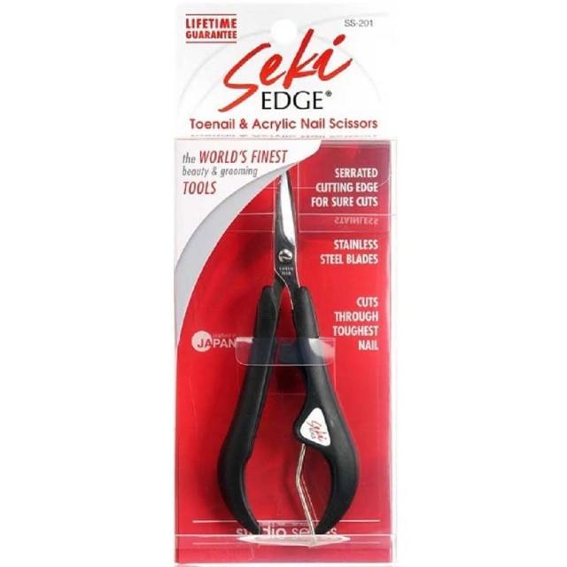 【日本綠鐘 SekiEDGE】日本GB綠鐘Seki鍛造不銹鋼彈力指甲修飾剪(SS-201)