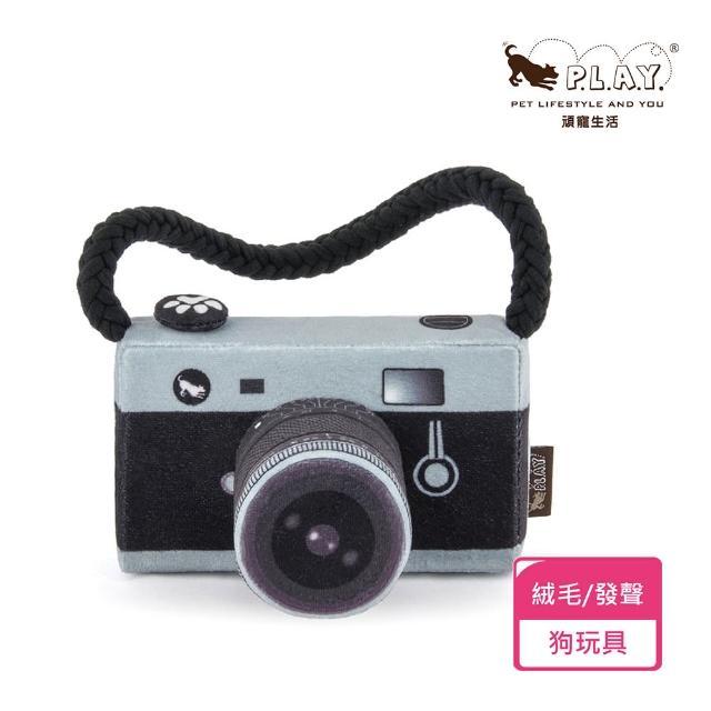 【P.L.A.Y.】萊卡單眼相機(狗狗最愛啾啾玩具)