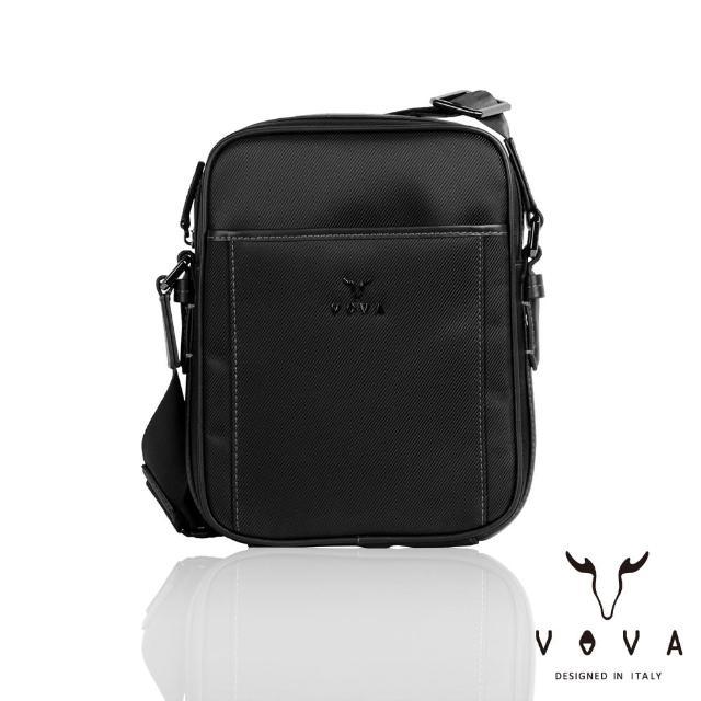 【VOVA】羅馬系列直式斜背包-小(簡約黑)