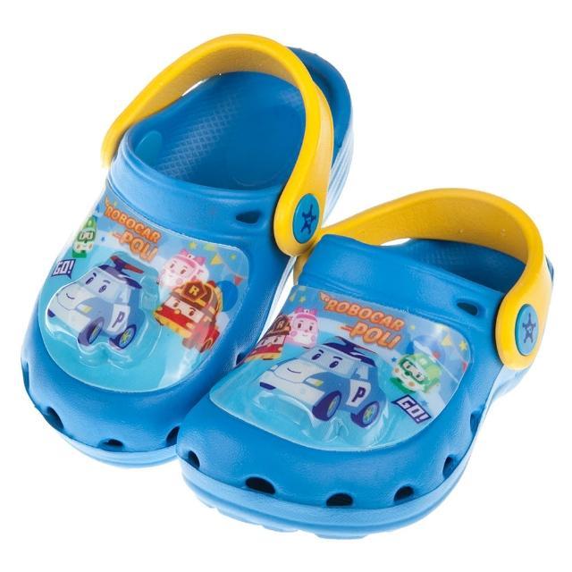 【布布童鞋】POLI救援小英雄波力藍色兒童發光電燈布希鞋(B7T056B)