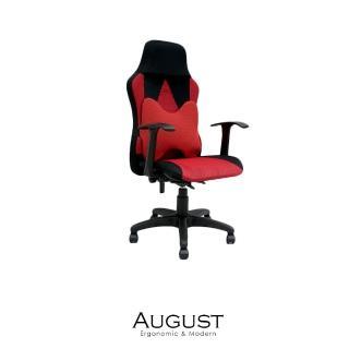 【obis】August透氣網布高背腰枕辦公椅/電腦椅 兩色可選(高背/腰枕/透氣網布)