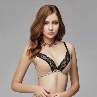 【La Felino 羅絲美】魚雁傳情深V無縫泡棉款B-E罩杯內衣(裸膚)