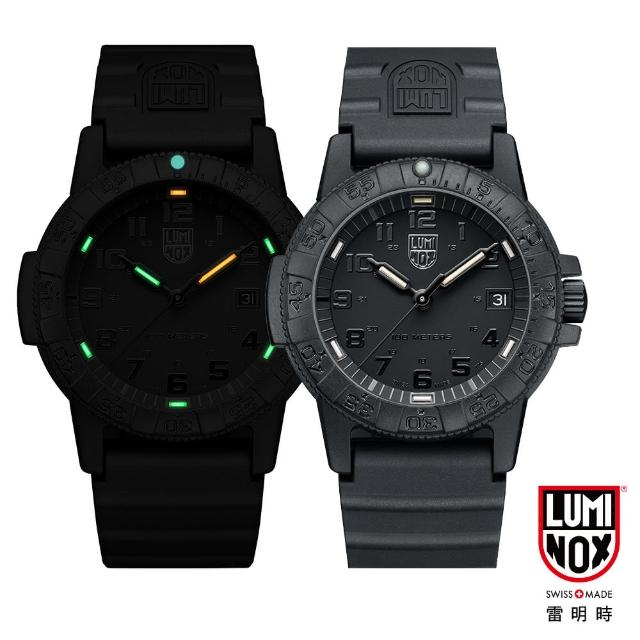 【LUMINOX 雷明时】SEA TURTLE 0320海龟系列腕表-黑x黑时标(44mm)