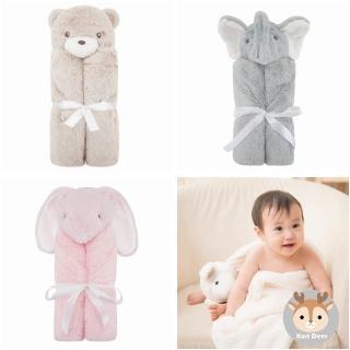 【美國Quiltex】超柔軟動物嬰兒毯/安撫毯(多款)
