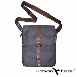 【URBAN TOOL】reporterBag 城市精靈電腦三用包(炭灰色/適用15 吋筆電)