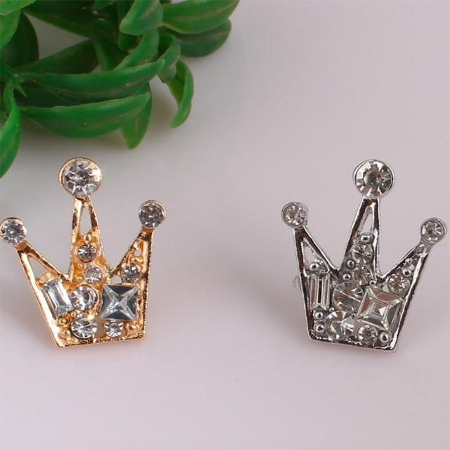 【Angel】皇家小皇冠歐美幸運胸針別針兩用(男女皆可用)