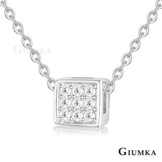【GIUMKA】純銀項鍊 小方塊 幾何造型系列 925純銀項鍊 MNS07097