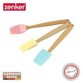 【德國Zenker】3入迷你矽膠工具