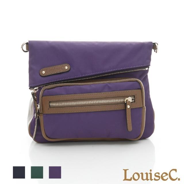 【LouiseC.】都會個性輕便小斜背包-紫色(03Z36-0061A10)