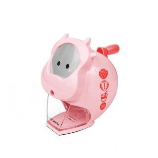 【urban prefer】 MOO 可愛小牛造型削鉛筆機(自動進筆/附奶瓶筆套/可回收材質)
