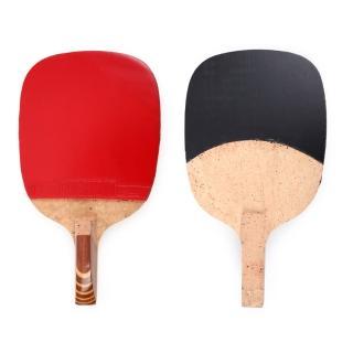 【Nittaku】雷神桌拍 #1000-桌球拍 正手板 乒乓球拍 紅咖啡(N-TTA-1000)