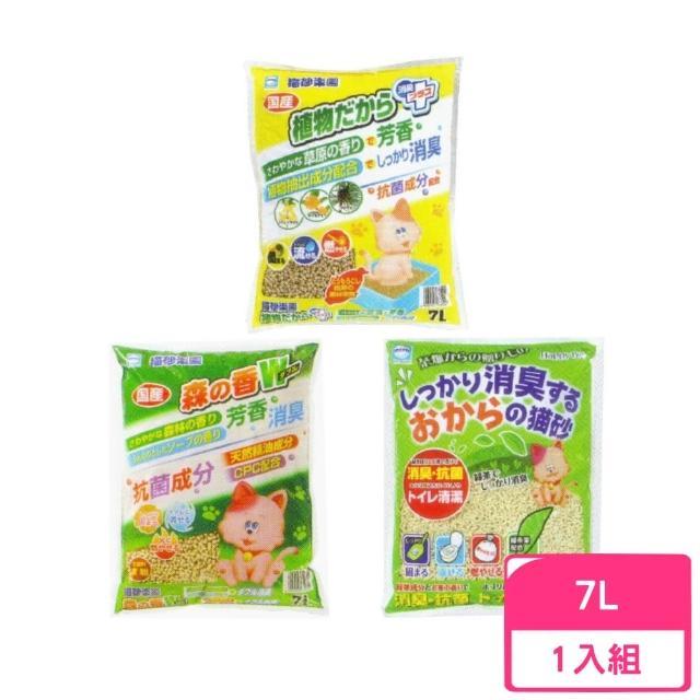 【貓砂樂園】砂木砂/環保玉米砂/檜木豆腐砂 7L