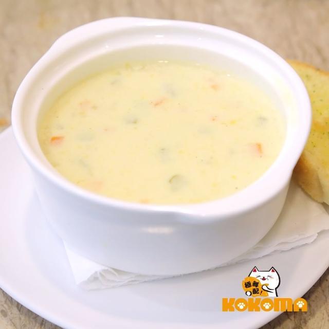 【極鮮配】奶油雞肉玉米濃湯(220g±10%/包-10包入)