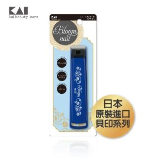 【KAI 貝印】貝印新本格附套平口指剪-L(指甲剪 日本)