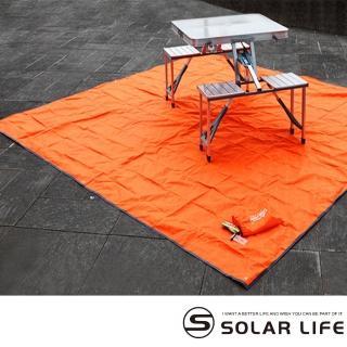 【索樂生活】ONEROAD防潮露營野餐地墊3x3m(多功能防水棚布.戶外露營野餐地墊)