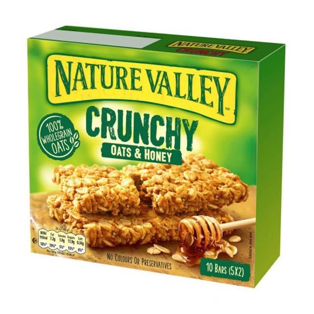 【NATURE VALLEY】天然谷 纖穀派 蜂蜜燕麥(42gx5條/盒)