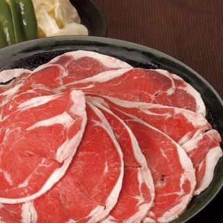 【勝崎生鮮】紐西蘭雪花羊火鍋肉片4盒組(200公克±10% / 1盒)