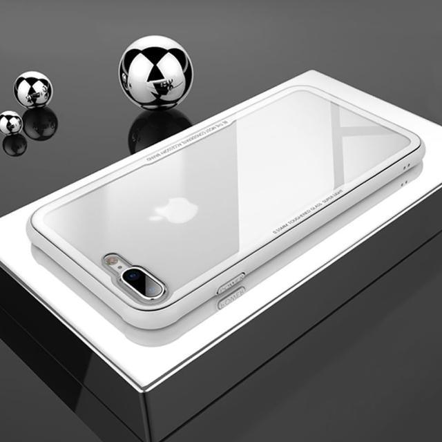 【innowatt】innowatt x DUZHI 聯名款 iPhone 8/7 Plus 晶鋼殼 Crystal Glass(5.5吋)