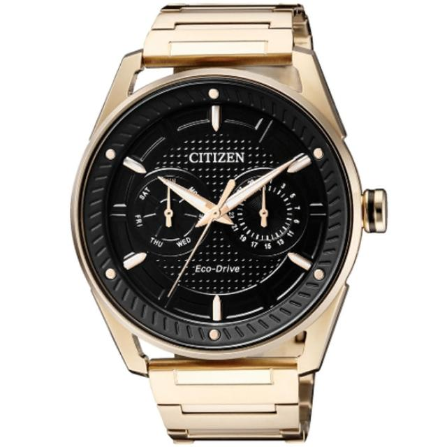 【CITIZEN 星辰】Eco-Drive 城市先驅光動能時尚腕錶(BU4022-81E)