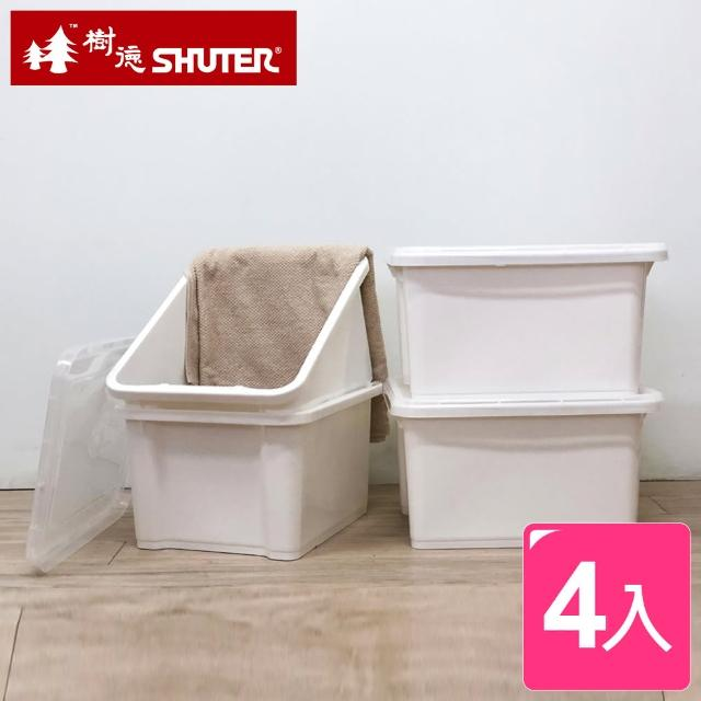 【SHUTER 樹德】石川雪白置物箱28L(4入)
