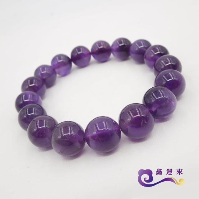 【鑫運來】智慧紫水晶手珠(11-12mm)
