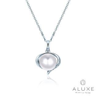 【A-LUXE 亞立詩】寵愛系列7-7.5mm 天然淡水養珠珍珠項鍊