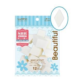 【Lumina露蜜】SBR海綿-菱形12入(大包裝海綿 量販包海綿)