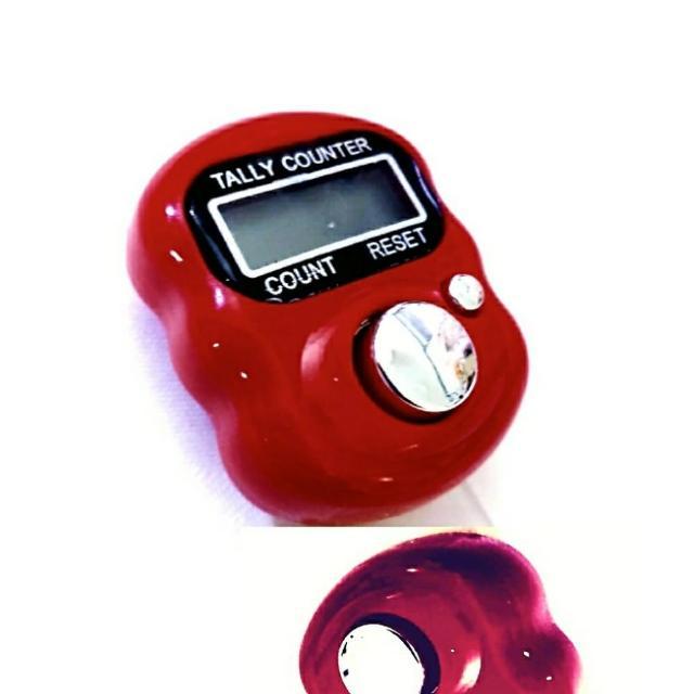 【Ainmax 艾買氏】迷你可愛 指環計數器 附指環帶(也能唸佛計數  範圍00000-99999)