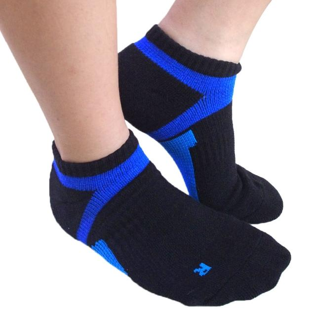 【Seraphic】厚底足弓加壓氣墊運動襪6雙組(MIT)