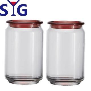 【SYG 台玻】玻璃平蓋儲物罐750cc(二入組)