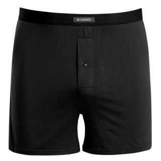 【DADADO】基礎系列Modal纖維 M-LL長版四角褲(舒適黑)