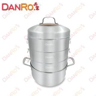 丹露多功能304不鏽鋼蒸籠湯鍋組