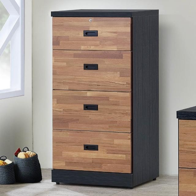 【顛覆設計】雙色積層木2尺小四斗櫃