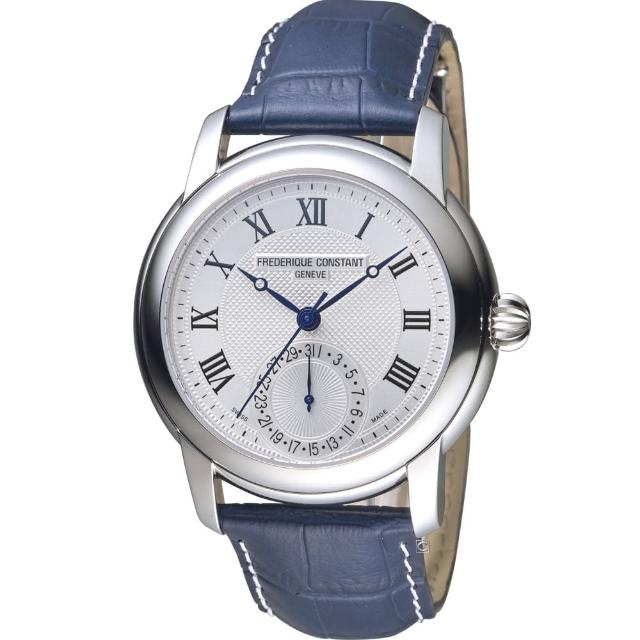 【CONSTANT 康斯登】經典羅馬紳士機械腕錶(FC-710MCN4S6)