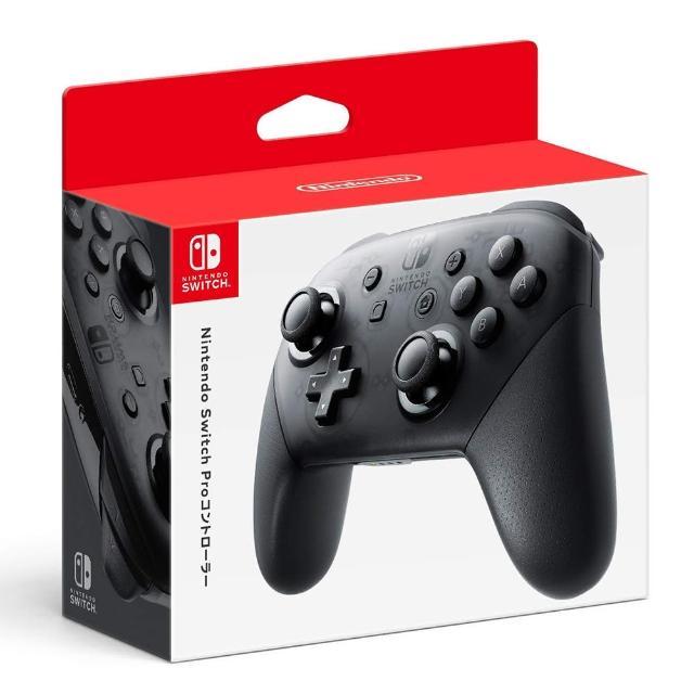 【Nintendo 任天堂】NS Switch 原廠周邊 Pro 控制器