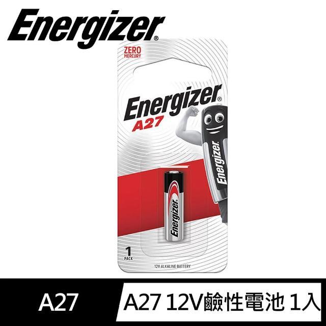 Energizer 勁量 A27 遙控器電池6入(遙控器電池)