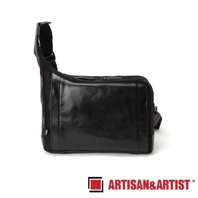 【ARTISAN & ARTIST】皮革斜肩相機包(RR4-05C 黑)