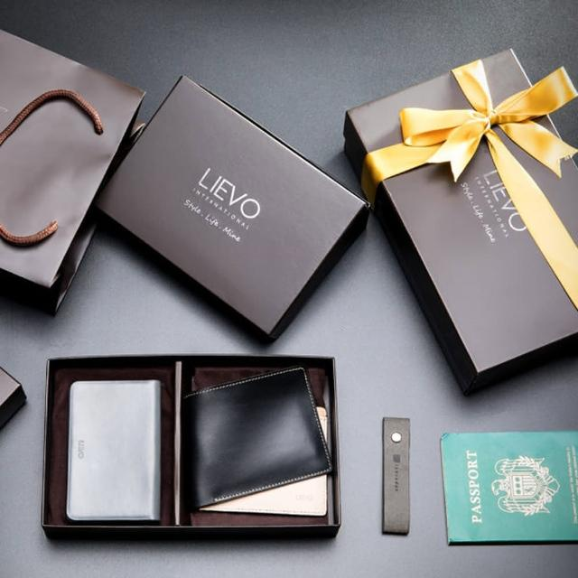 【LIEVO】SHOW - 名片夹+GRACE - 水蜡皮短夹(圣诞限定礼盒组)