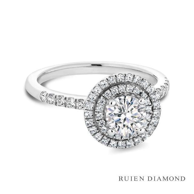 【RUIEN DIAMOND 瑞恩鑽石】GIA50分 D VVS1 3EX(18K白金 鑽石戒指)