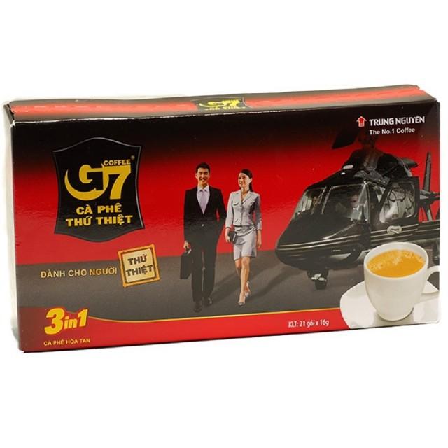【G7】三合一即溶咖啡(16g*21包)